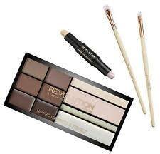 MAKEUP REVOLUTION HD PRO BROWS - BROW POWDER, WAX, TINT, Highlighter BRUSHES KIT