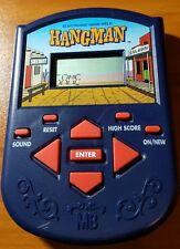Hangman Electronic Hand-held Game 1995 MB Milton Bradley TESTED