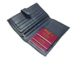New 2021 Travel Wallet Leather Multi Passport Boarding Pass Ticket Holder
