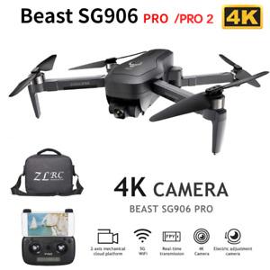 SG906 MAX PRO/PRO2 Beast  Drone GPS 3-Axis Gimbal 4K FPV 5G WIFI Dual Camera