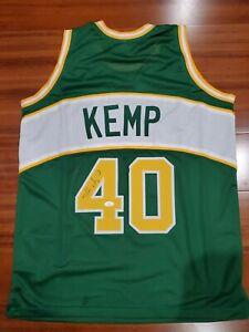 Shawn Kemp Autographed Signed Jersey Seattle Super Sonics JSA