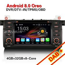 Acht-Kern Android 8.0 GPS Autoradio Navi Für BMW E46 3er M3 Rover 75 MG ZT DAB+
