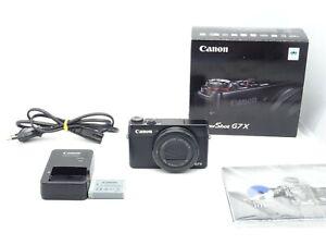 Canon PowerShot G7X Digitalkamera Schwarz - 20MP -Vom Händler-