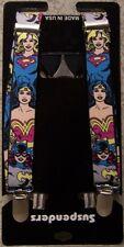 "Suspenders Children & Junior 1""x36"" FULLY Elastic Batgirl Supergirl Wonder Woman"
