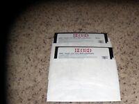 """Captain Blood IBM Tandy PC 5.25"""" disks Mint Condition"""