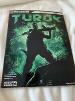 Turok Brady Games Official Strategy Guide Covers Xbox 360 & PS3 Game