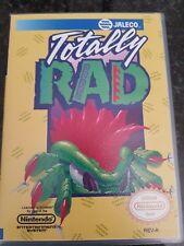 NES Totally Rad PAL In Custom Case
