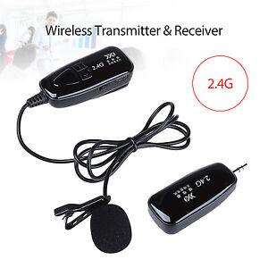 2.4G Voice Amplifier Wireless Mic Transmitter&Receiver Microphone Handsfree P6