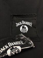 2x Jack Daniels Whiskey Beutel Jute Tasche Stofftasche Rucksack NEU OVP