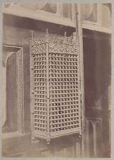 Architecture décoration religieuse Vintage albumine ca 1880