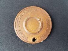 Vintage Skinner Brothers Tulsa Oklahoma Oil Supply Promo Pocket Thread Gauge