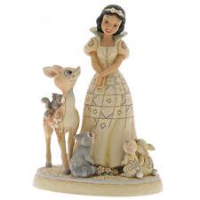 Enesco Disney Traditions Blancanieves bosque animales estatuilla de