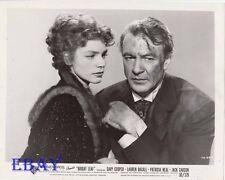 Lauren Bacall Gary Cooper VINTAGE Photo Bright Leaf