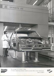 Austin Metro Factory Press Photo 9799/1 Body Measuring