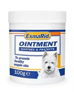 Exmarid Ointment For Animals With Dry, Damaged Or Broken Skin 100g Tub