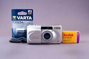 Olympus Superzoom 105G 35mm Point & Shoot Film Camera
