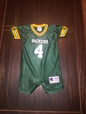 Baby Champion Green Bay Packers Favre Jersey Romper 12 Months