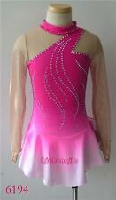 New custom ice Figure skating Competition dress 6194