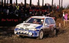 Tommi Makinen Nissan Sunny GTI-R RAC Rally 1992 Photograph 2
