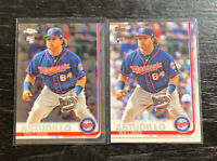Willians Astudillo RC Lot(2) 2019 Topps Minnesota Twins Flagship & Chrome