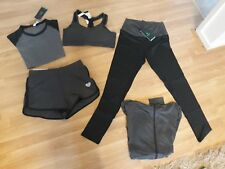 Fight Eagle VANSYDICAL Women's Yoga Suit, 5 Piece Running Jogging Tracksuit Gym