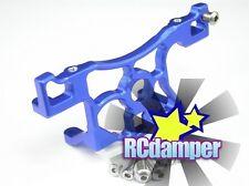 GPM TRAXXAS 1/10 SLASH LCG 4x4 BLUE ALUMINUM REAR MAIN SPUR GEAR MOUNT