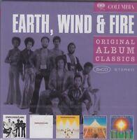 Earth, Wind & Fire / Gratitude, Spirit, All in All,, I Am u.a. (5 CDs, NEU!OVP)