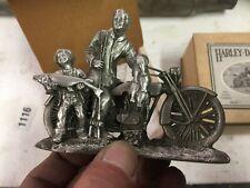 """NOS Harley-Davidson Pewter Sculpture """"A Good Days Catch"""" 99201-94V"""