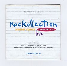 PROMO CD SINGLE (NEUF) LAURENT VOULZY ROCKOLLECTION LIVE VOL 6