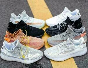 Hot Chameleon 9 Colors Mens 350 Reflective Light Running Trainers Shoes Sneakers