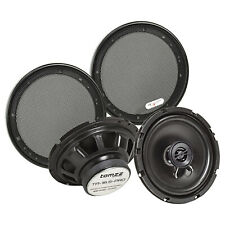Koaxial Lautsprecher Set 165mm 100 Watt inkl. Gittersatz TA 16.5-Pro