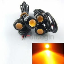 4pcs 3W Car LED DRL Eagle Eye Screw Backup Reverse Amber Fog Driving Light Lamp