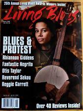 LIVING BLUES Magazine #256 (2018) BLUES PROTEST Rhiannon Giddens Eddy Clearwater