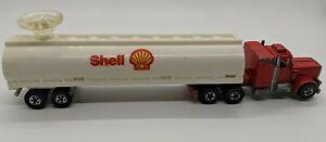 Peterbilt, Shell, Hot Wheels, Semi With Trailer, 1980, 2 piece set, Die Cast