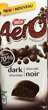 AERO DARK CHOCOLATE KING SIZE CHOCOLATE BAR 95g - MADE IN CANADA
