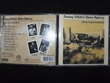 CD SNOWY WHITE'S BLUES AGENCY / OPEN FOR BUSINESS /