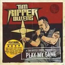 "TIM ""RIPPER"" OWENS - PLAY MY GAME USED - VERY GOOD CD"