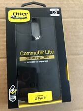 LG Stylo 5 / Stylo 5+ Otterbox Commuter Series Case Dual Layer Authentic - Black