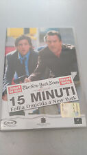 DVD 15 MINUTI Follia omicida a New York John Herzfeld Robert De Niro Edward Burn