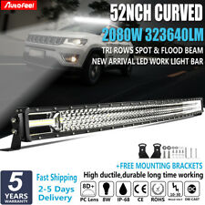 """52""""Inch  Lumiled CURVED 2080W LED Light Bar Spot Flood OffRoad Work Driving 50"""""""