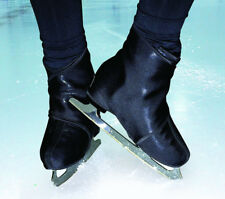 """Insulated ice Skate Cover - Figure Skate Boot Warmers Sk8Wrapsâ""""¢ Black Sparkle"""