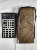 Vintage Hewlett Packard HP-41CX Scientific Calculator Math 1 Circuits 1 Modules
