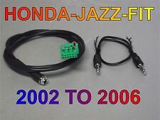 Aux cable Honda jazz fit aux cable mp3 iphone 2002 2006 first generation.