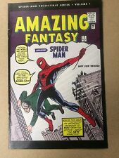 AMAZING FANTASY #15 REPRINT 1ST SPIDERMAN NEWSPAPER PROMO NM CONDITION 2006