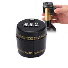 2017 Bottle Lock Password Combination Lock Wine Stopper Vacuum Plug Device