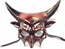 Animal Horn Masquerade Devil Mask Halloween Costume Prom Cosplay Medusa Party