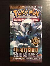 Pokemon Heart Gold Soul Silver Booster Pack Lugia Art (Spanish)