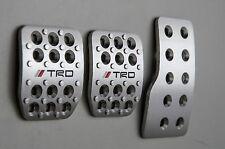 TOYOTA  YARIS,COROLLA -//TRD -aluminium pedal set