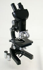 LEICA Leitz Mikroskop microscope Forschungs scientific Stereo top schauen look