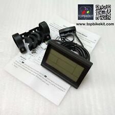 KT-LCD3 Display 24V/36V/48V Meter Control Panel for Electric bike Black Color